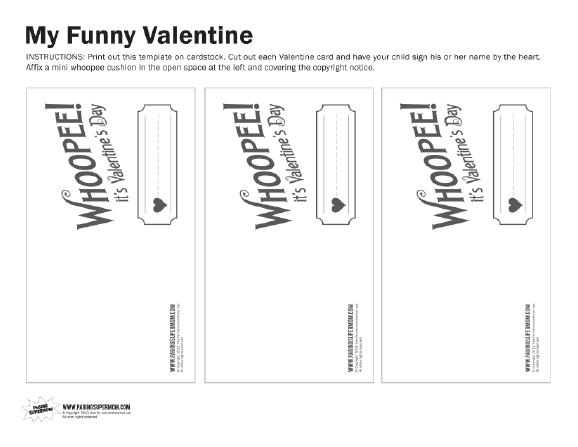 Fesselnd Whoopie Cushion Valentine White Version