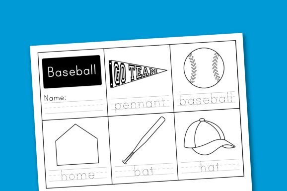 Free-Baseball-Handwriting-Worksheet