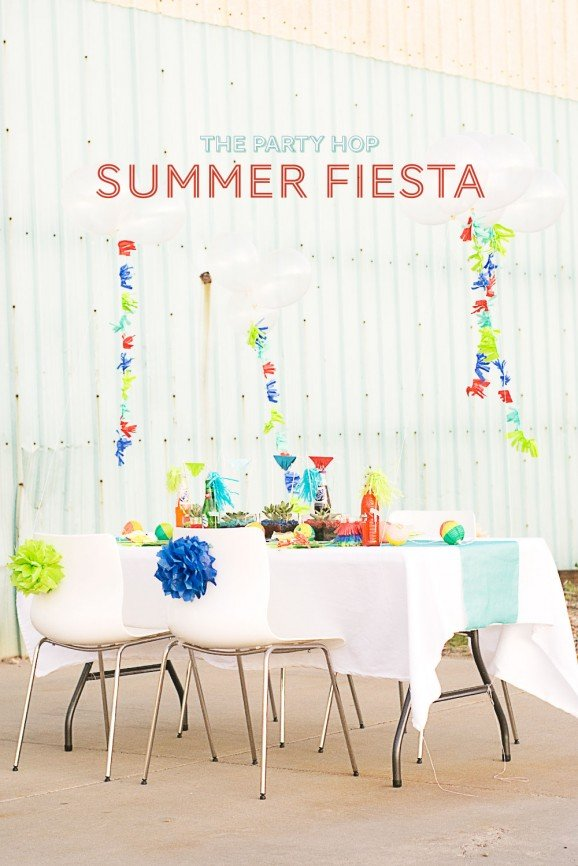 Summer Fiesta Party Ideas via @PagingSupermom  #thepartyhop