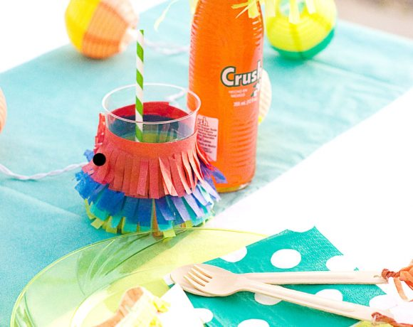Summer Fiesta Place Setting & Party Favor