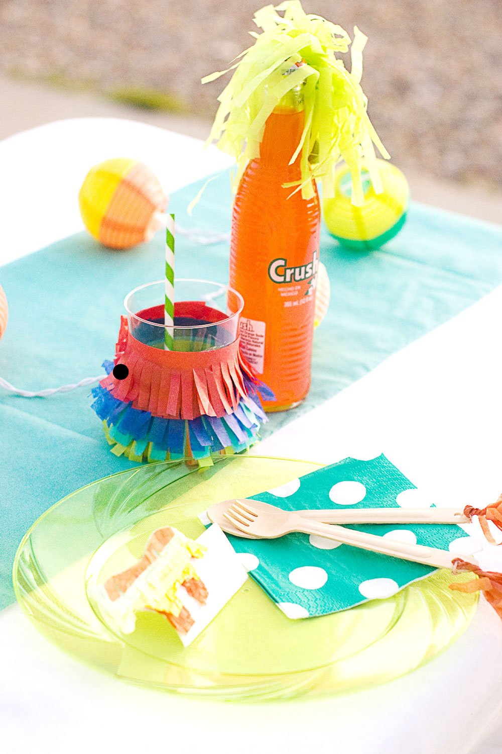 Summer Fiesta Place Setting via @PagingSupermom #ThePartyHop