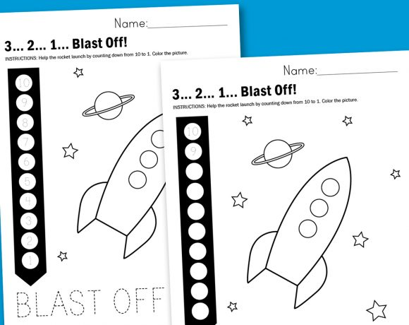 Worksheet Wednesday: 3…2…1… Blast Off!