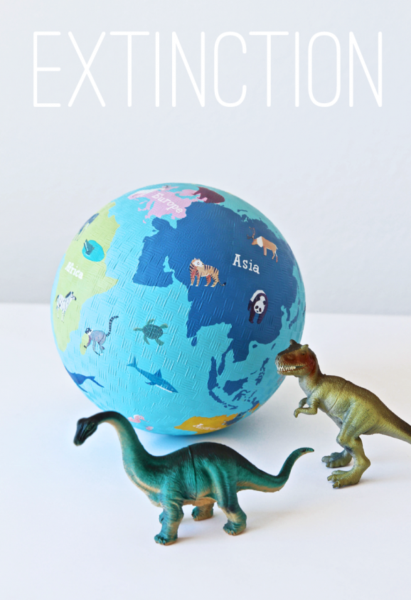 Extinction Dodge Ball Dinosaur Party Game ideas from @PagingSupermom