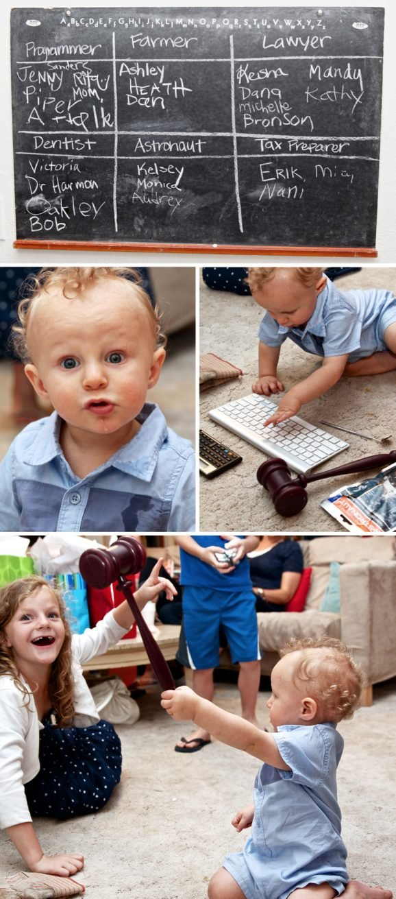 Great Idea for a Game to Play at a First Birthday Party via @PagingSupermom