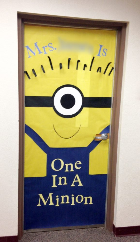 Innovative Ideas For Classroom Decoration ~ Teacher appreciation door decorating paging supermom