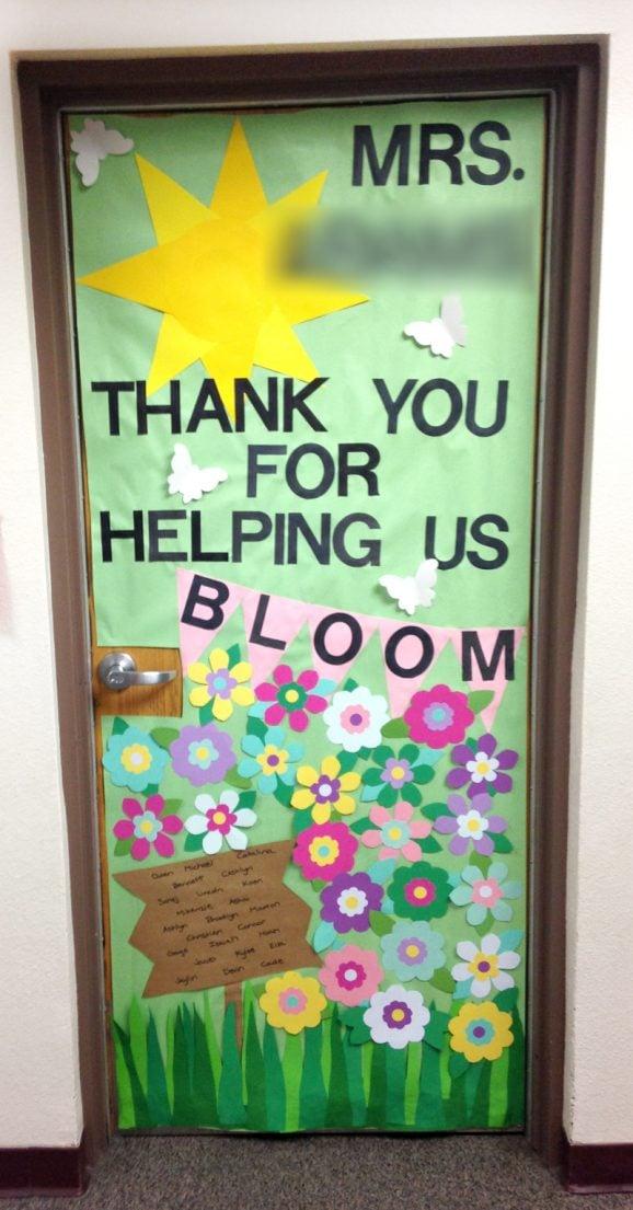 Teacher Appreciation Door Decorating Paging Supermom