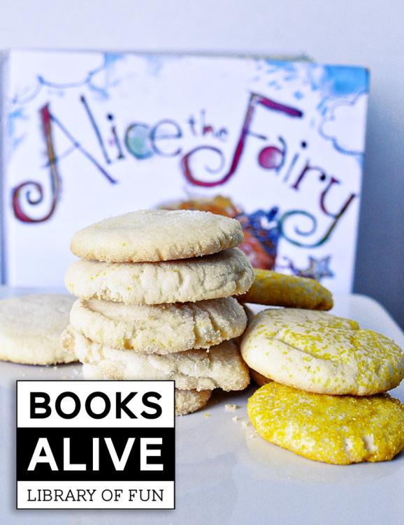 Alice the Fairy book and fun recipe to go with it via @PagingSupermom #BooksAlive