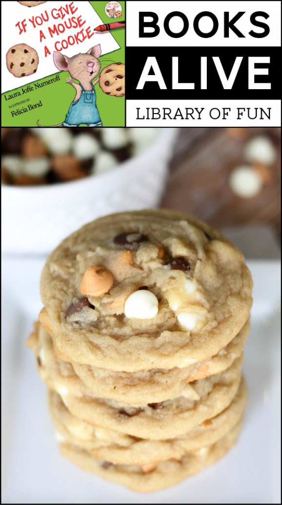 If You Give a Mouse a Cookie - Summer Reading Project Idea for kids with @LilLuna via @PagingSupermom