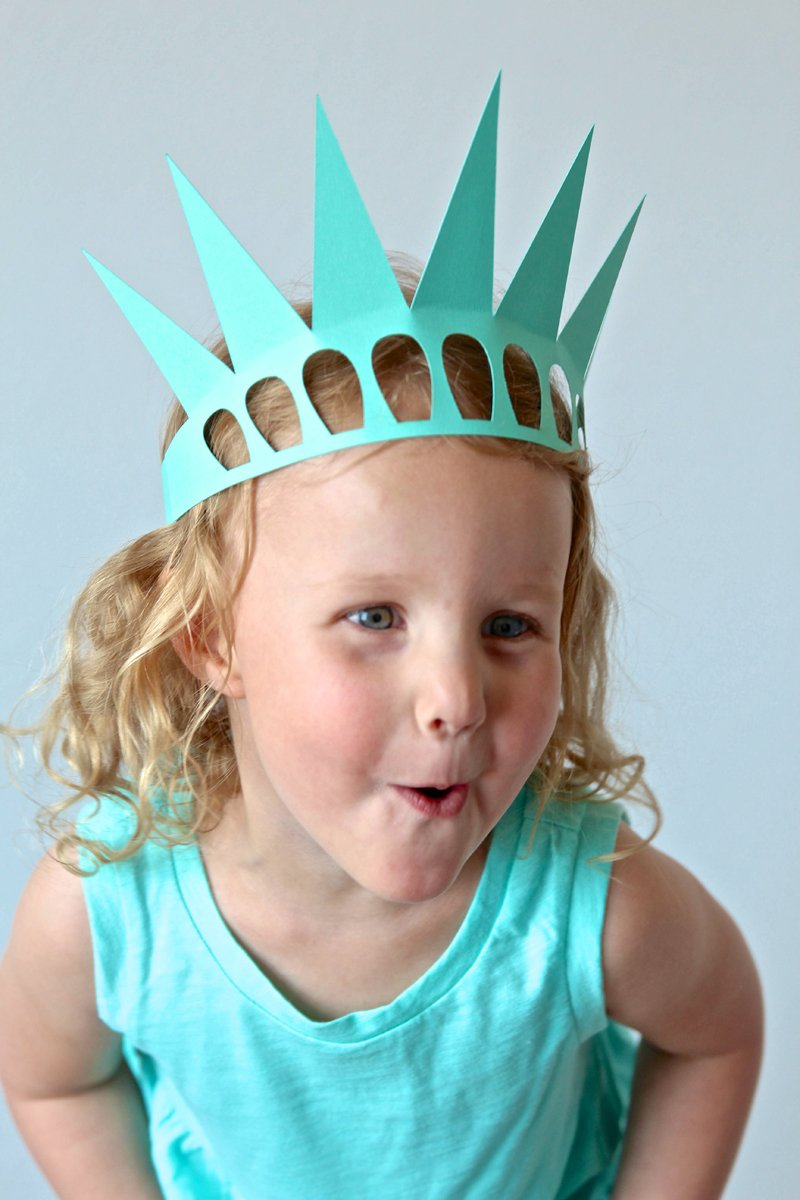 Easy Statue Of Liberty Crafts