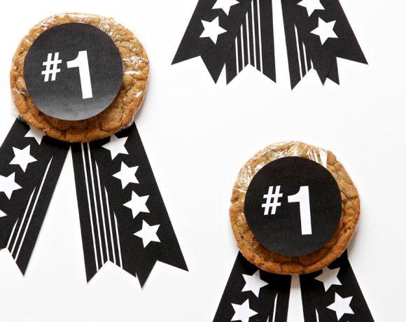 Best Dad Cookie Medal