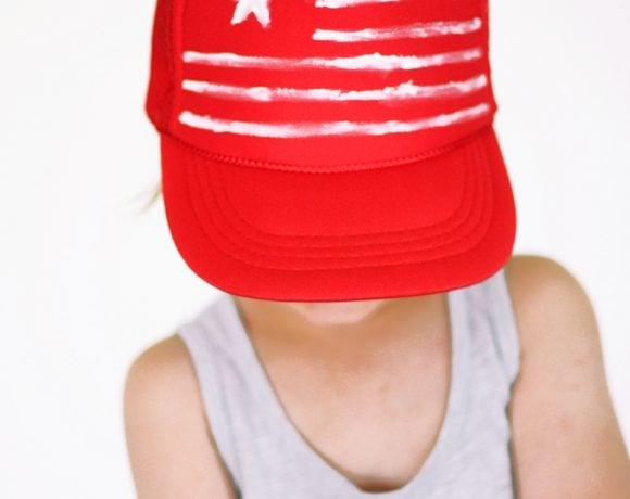 Fourth of July Cap DIY