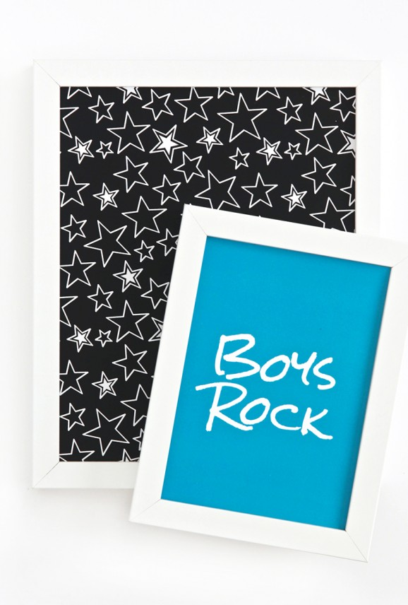 Printables for the cutest Rock Star Baby Shower - Gender Neutral via @PagingSupermom