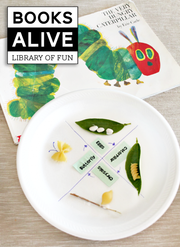 Easy & Educational Activity to go along with The Very Hungry Catterpillar Book via @PagingSupermom
