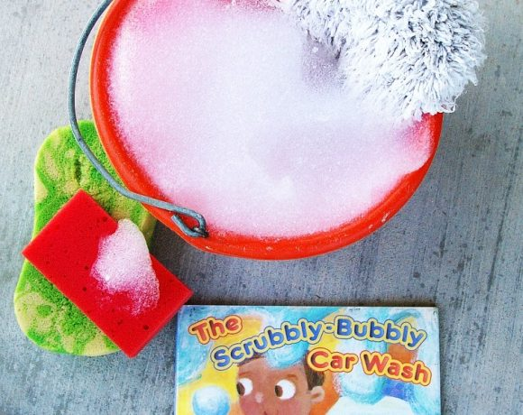 Books Alive: Scrubbly Bubbly Car Wash