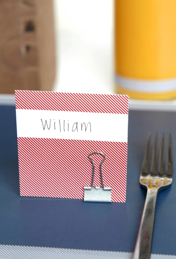 Cute Free Printable Placecards for a Back to School Breakfast from @PagingSupermom