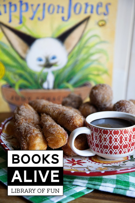 #Skippy JonJones loves Churros and this is such an easy recipe via @PagingSupermom
