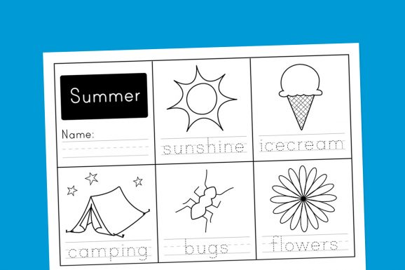 Summer-Worksheet-Free-Printable