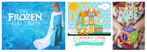 Summer Activities and fun from Kiki & Co via @PagingSupermom