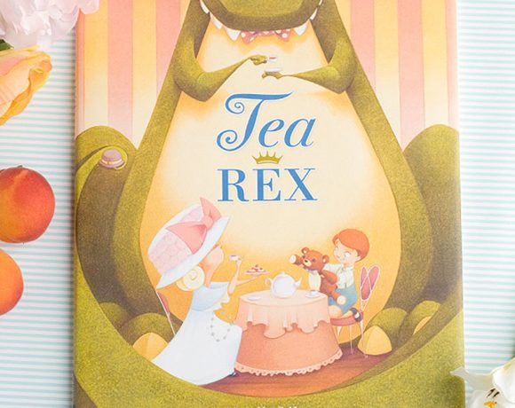 Tea Rex Fun Book Idea via @PagingSupermom