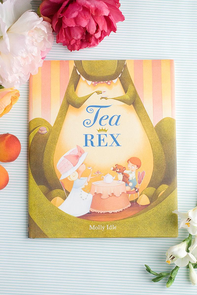 Tea Rex Fun Book Idea via @PagingSupermom