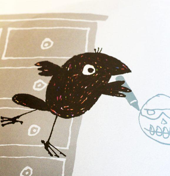 Edgar the Raven via @PagingSupermom