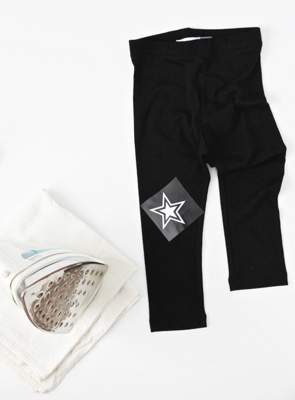 How to make Star Knee-Patch leggings from @PagingSupermom