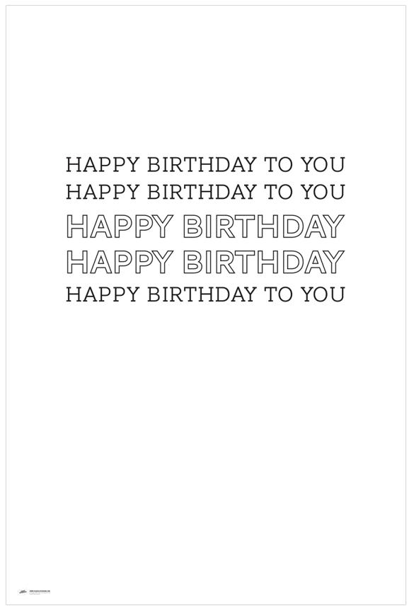 Free Printable Happy Birthday Poster