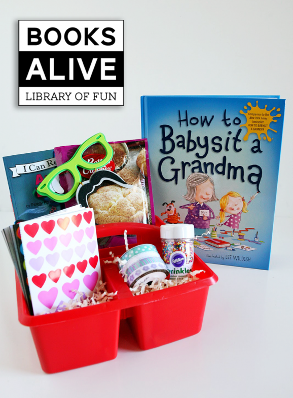 How to Babysit Grandma book via @PagingSupermom #booksalive
