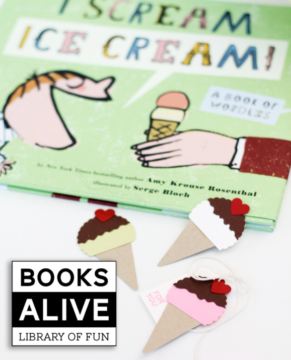 This book looks so cute and love the little ice cream cone craft via @PagingSupermom
