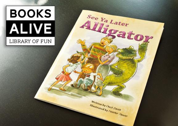 See Ya Later Alligator Book & Memory Game via @PagingSupermom