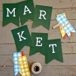 Autumn Market: Free Printables