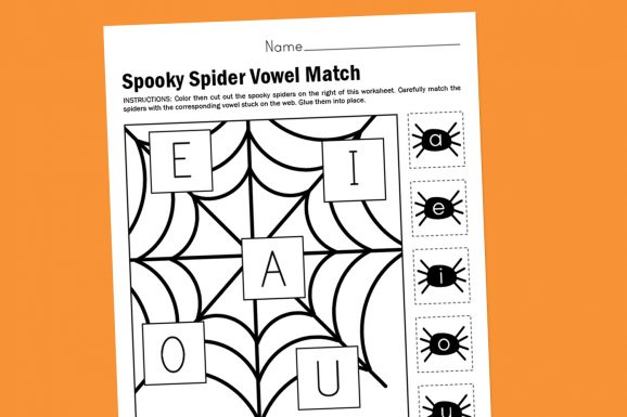 Halloween-Web-Vowel-Matching-Printable
