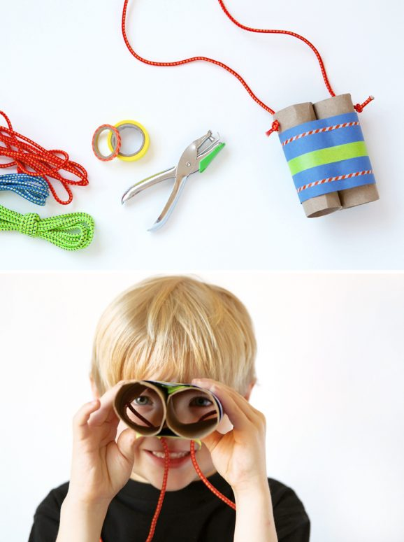"Love these ""Imagination Binoculars"" for kids  to make from @PagingSupermom"
