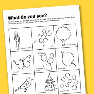 Worksheet Wednesday: Getting Out In AZ