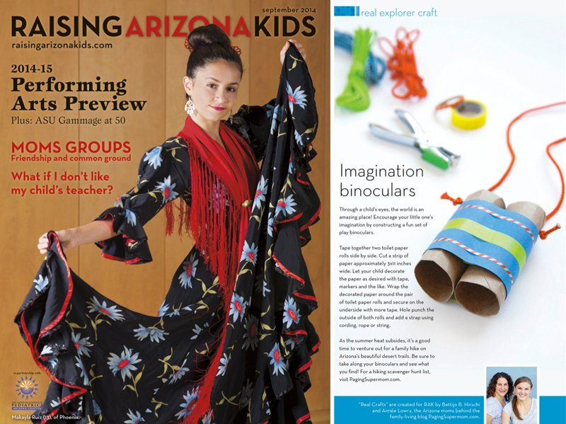 """Love these """"Imagination Binoculars"""" for kids to make from @PagingSupermom"""