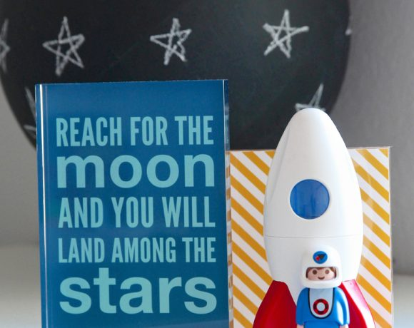 Rocket Nursery with Shutterfly