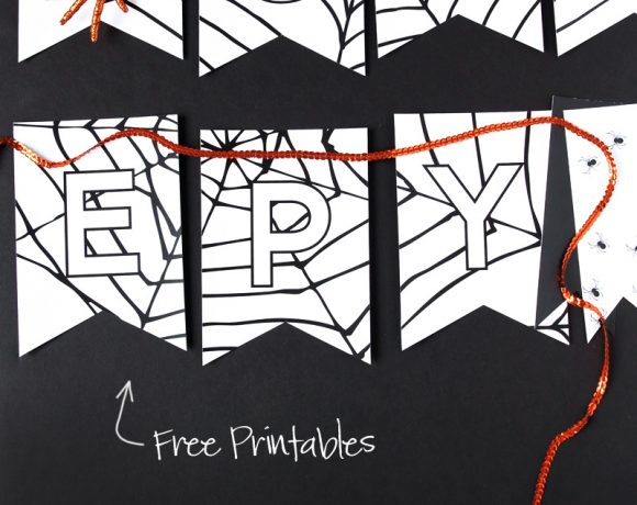 Creepy Free Printable Halloween Banner