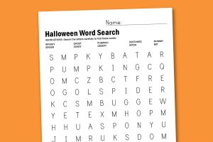 #FreePrintable Halloween Word Search and more free worksheets @PagingSupermom