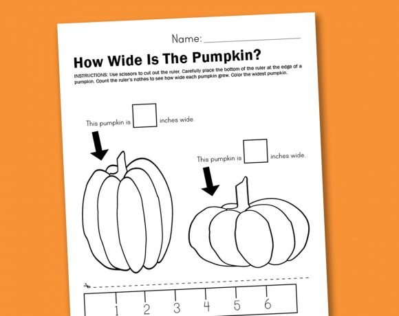 Worksheet Wednesday: Measuring Pumpkins