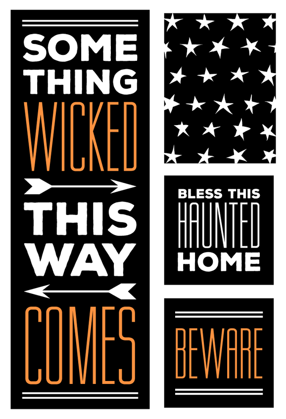 Halloween Graphics for Shutterfly