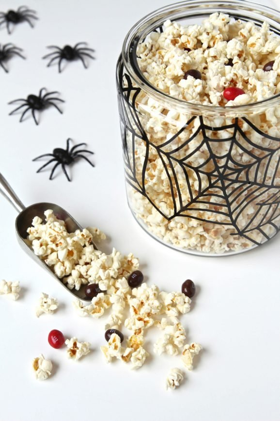 DIY Spooky Spider Web Jar @PagingSupermom #Halloween