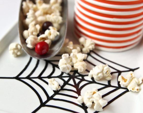 Spider Egg Popcorn Recipe