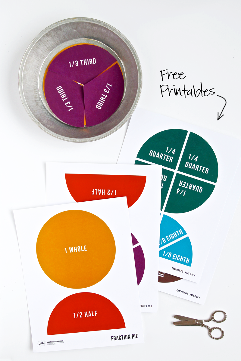 Fraction-Pie-Free-Printables