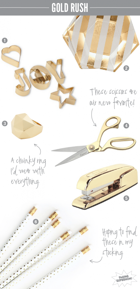 I'm adding this fab #Gold goodies to my #Christmas Wish List found @PagingSupermom