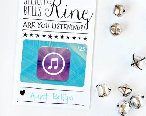 A Super-Cute Way to Give iTunes!