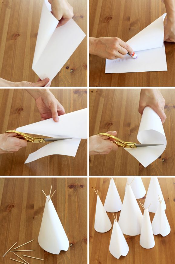 DIY Teepee Kids Craft And Centerpiece Paging Supermom