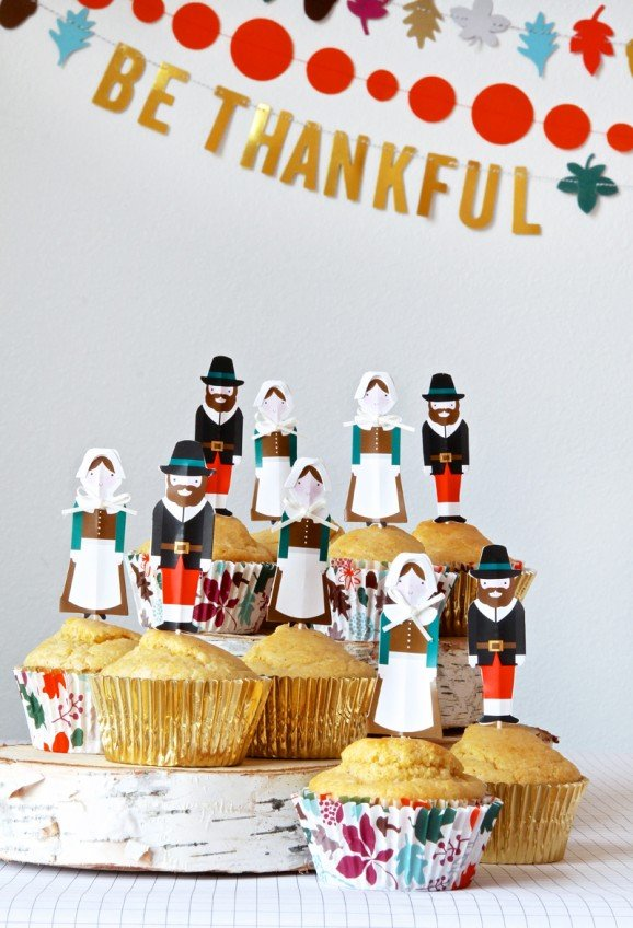 Fun Kids Table Ideas for Thanksgiving via @PagingSupermom