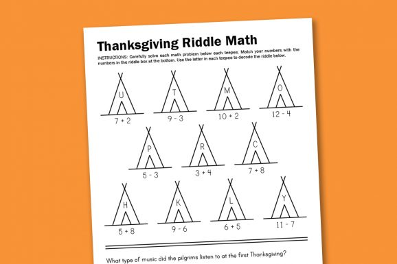 Free thanksgiving worksheets @pagingsupermom New worksheets posted every week