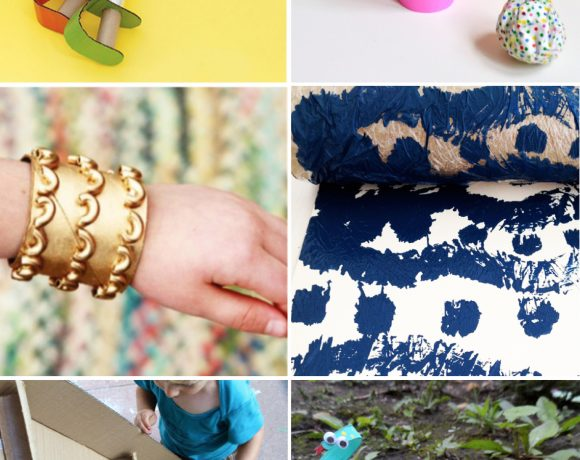 10 Ways to Play with Wrapping Paper Rolls