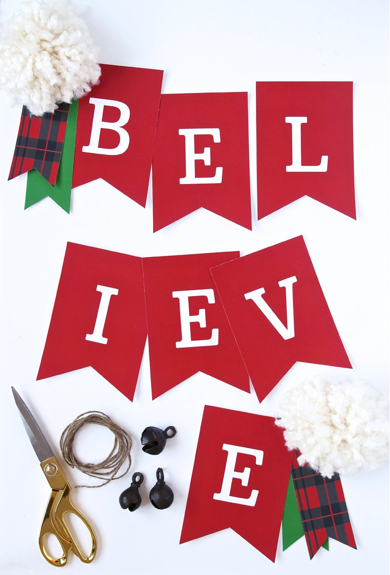One Free Quot Believe Quot Banner Two Ways Paging Supermom